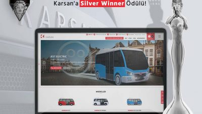 Karsan'ın Web Sitesine ödül