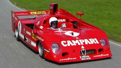 Alfa Romeo'nun Efsane Yarış Modeli 33 TT 12!