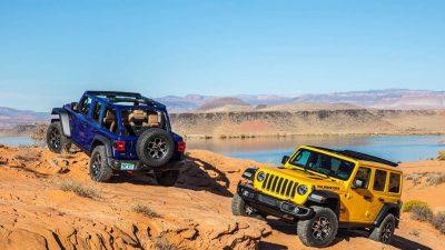 Jeep Wrangler'e yeni motor