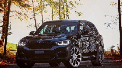 Dahler, BMW X3 M için kolları sıvadı