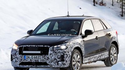 Makyajlı Audi Q2 kameralara yakalandı