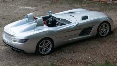 Düşük kilometrede Mercedes-Benz SLR McLaren