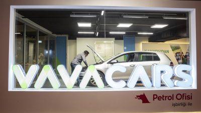 VavaCars, yeni şubesini İstanbul Kanyon AVM'de hizmete açtı