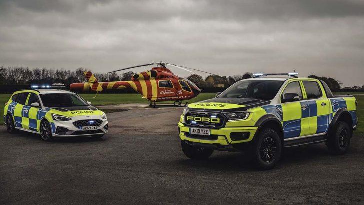 Polis teşkilatına özel Ford Ranger Raptor ve Focus ST