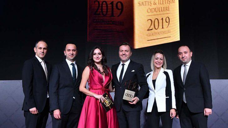 Audi Türkiye'ye iki gladyatör ödülü