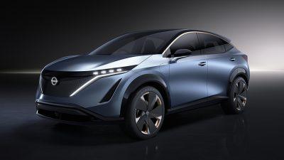 Nissan Ariya Concept CES Fuarı'nda tanıtıldı