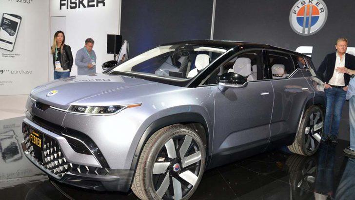 2022 Fisker Ocean SUV'dan hızlanma rekoru kıracak