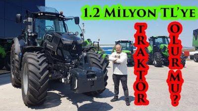 1.2 Milyon TL'lik traktör kullandım! | SDF Traktör tesislerini ziyaret ettim