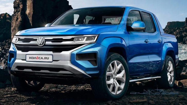 Yeni Volkswagen Amarok böyle mi olacak?