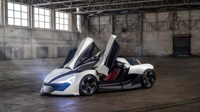 650 Hp gücünde spor otomobil: Apex AP-0 konsept