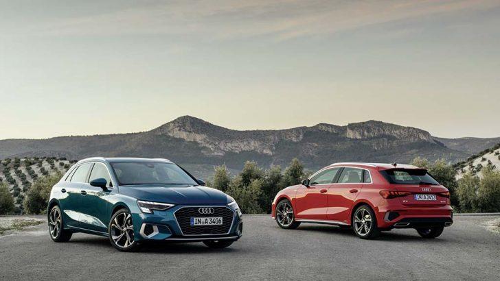 2020 Audi A3 Sportback'ten rakiplerine çalım