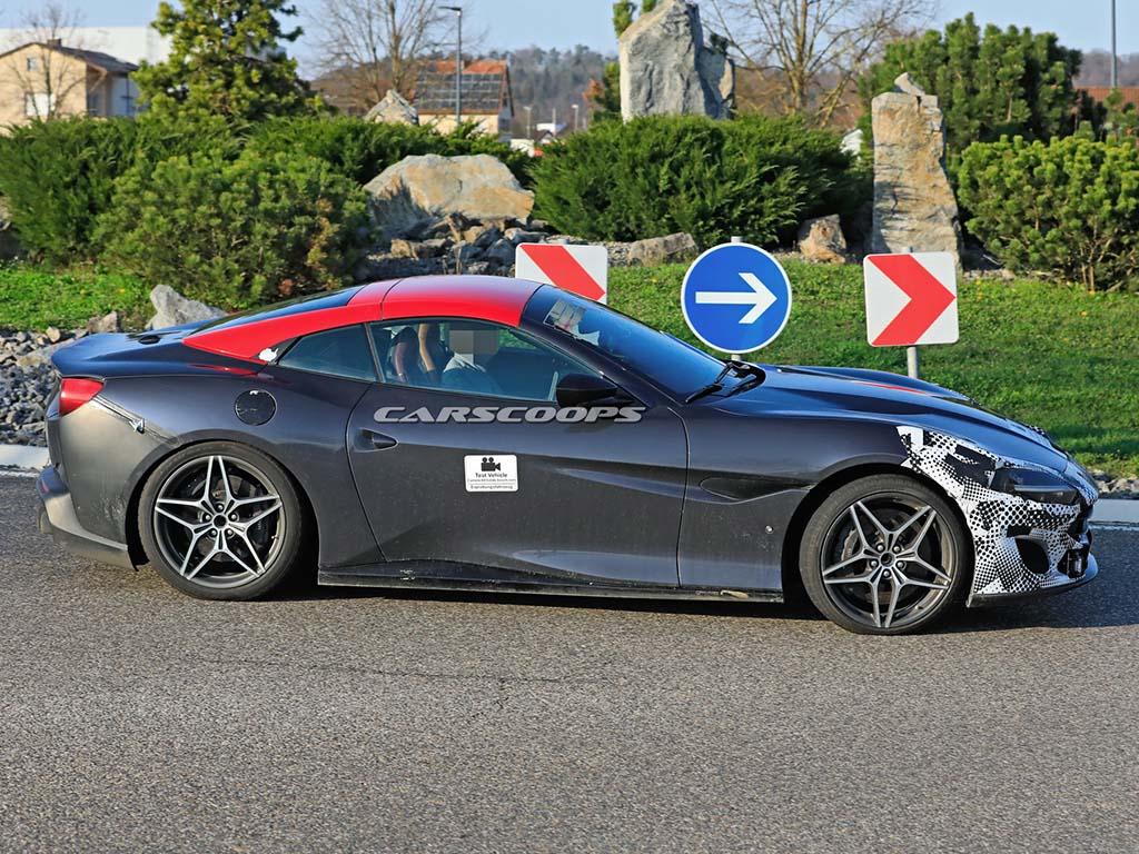 Bu görsel boş bir alt niteliğe sahip; dosya adı Ferrari-Portofino-Facelift-Scoop-06.jpg
