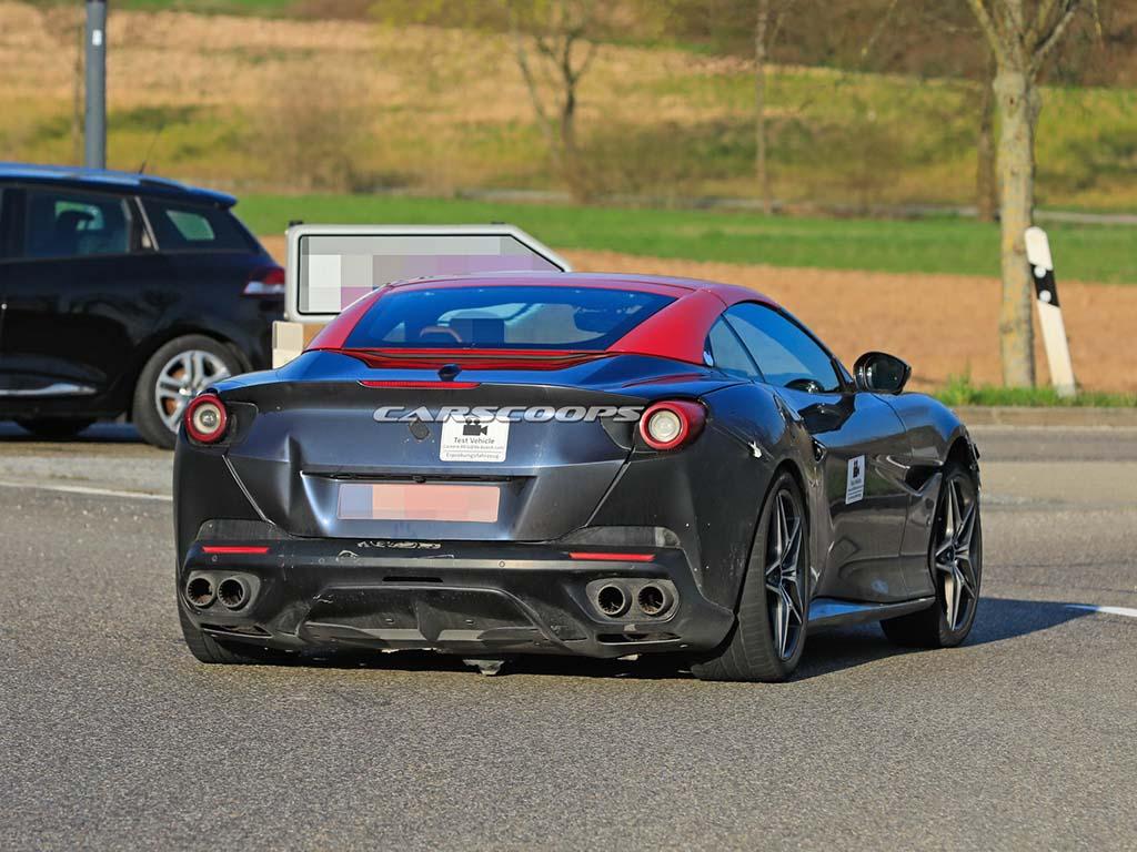 Bu görsel boş bir alt niteliğe sahip; dosya adı Ferrari-Portofino-Facelift-Scoop-10.jpg