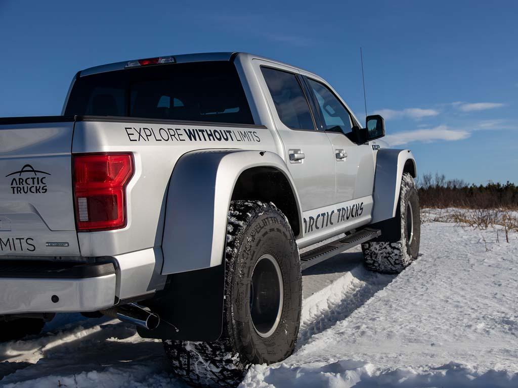Bu görsel boş bir alt niteliğe sahip; dosya adı Ford-F150-Arctic-Trucks-07.jpg