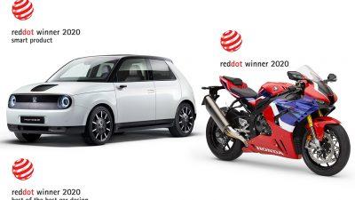 Honda'ya Red Dot'tan 3 ödül