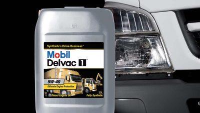 Mobil Delvac Express servisleriyle ağır vasıtaları yolda bırakmıyor!