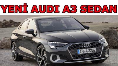 Audi A3 Sedan yenilendi