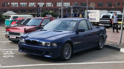 BMW e39 530d Kamyonete dönüşürse