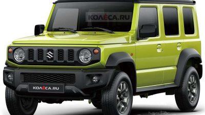 5 kapılı Suzuki Jimny yıl sonu üretilebilir