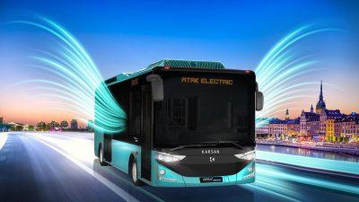 Karsan'dan Fas'a 25 adet Atak otobüs