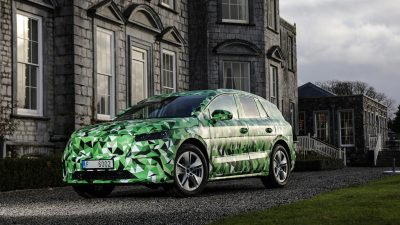 Škoda'nın elektrikli SUV'u Enyaq'ın geliştirme çalışmaları tamamlanıyor
