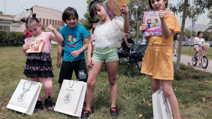 """Skoda'nın """"İyilik Araçları"""" Düşyeri Kitaplarını Çocuklarla Buluşturdu"""
