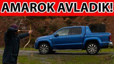 Ok ve yay ile Volkswagen Aamarok avladık