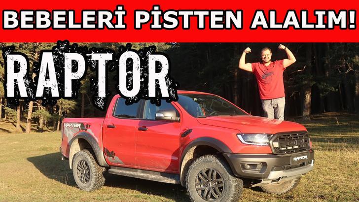 Yeni 2020 Ford Ranger Raptor inceleme | Bebeleri Pistten Alalım!