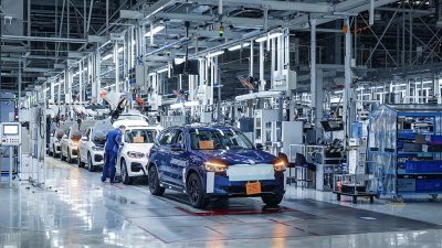 Yeni BMW iX3 seri üretim yolunda son hazırlıklarını tamamladı