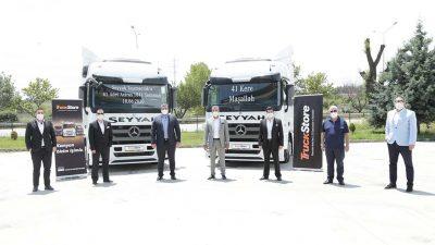 TruckStore, Seyyah Taşımacılık'a 41 adet Mercedes-Benz Actros teslim etti