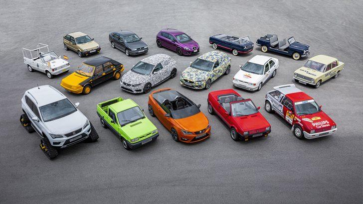 SEAT'ın 70 yıla özel otomobil koleksiyonu