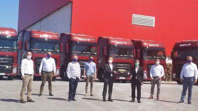 Ford Trucks'tan HYT Tam Lojistik'e 10 adet ödüllü F-MAX teslimatı