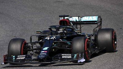 Olaylı yarışta Mercedes-AMG duble yaptı