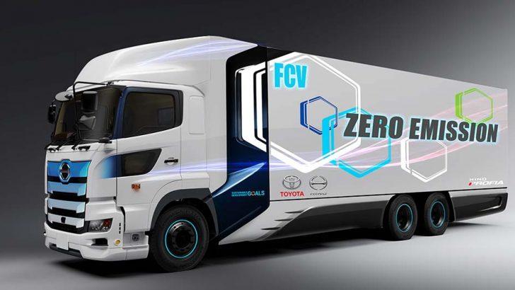 Toyota ve Hino Trucks'tan hidrojen yakıt hücreli ağır ticari araç
