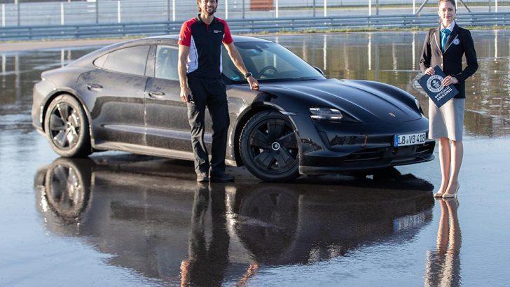 Porsche Taycan, Guinness Rekorlar Kitabı'na girdi