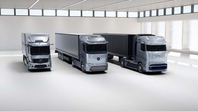 Mercedes'ten elektrikli geleceğin yenilikçi kamyonları