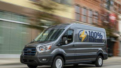 Tamamen elektrikli Ford E-Transit Kocaeli'de üretilecek