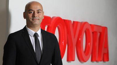 Toyota'nın yeni bayi yönetimi direktörü Caner Yüksel
