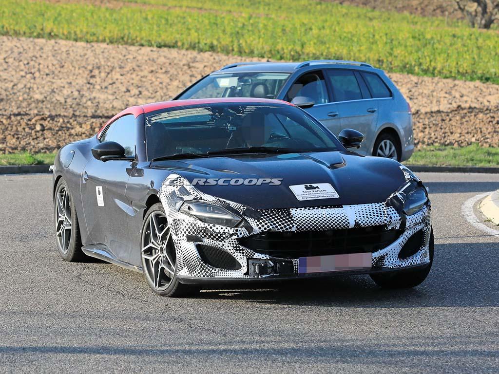 2021 Ferrari Portofino kamuflajlı yakalandı - VIRAGE