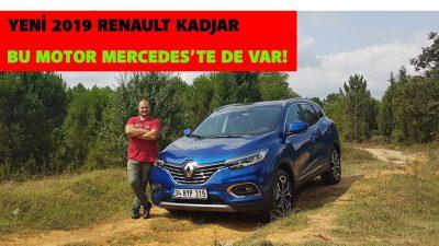 Bu motor Mercedes'te de var! | Yeni 2019 Renault Kadjar