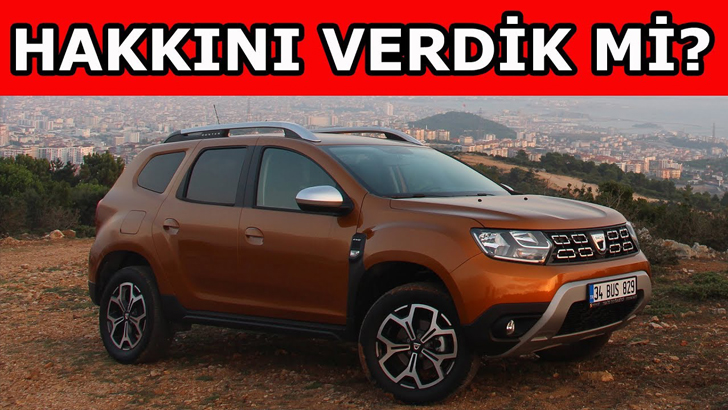 Emeklilik hayalim | Dacia Duster 1.5 dCi