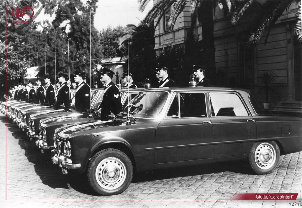 Bu görsel boş bir alt niteliğe sahip; dosya adı Giulia-Carabinieri.jpg