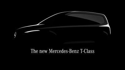 Yeni Mercedes-Benz T-Serisi geliyor