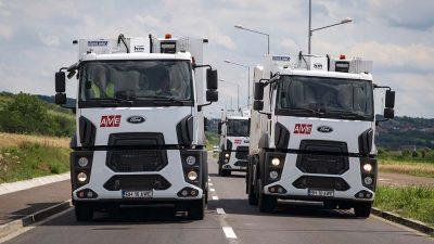 Ford Trucks kamyonları Romanya sokaklarını temizleyecek