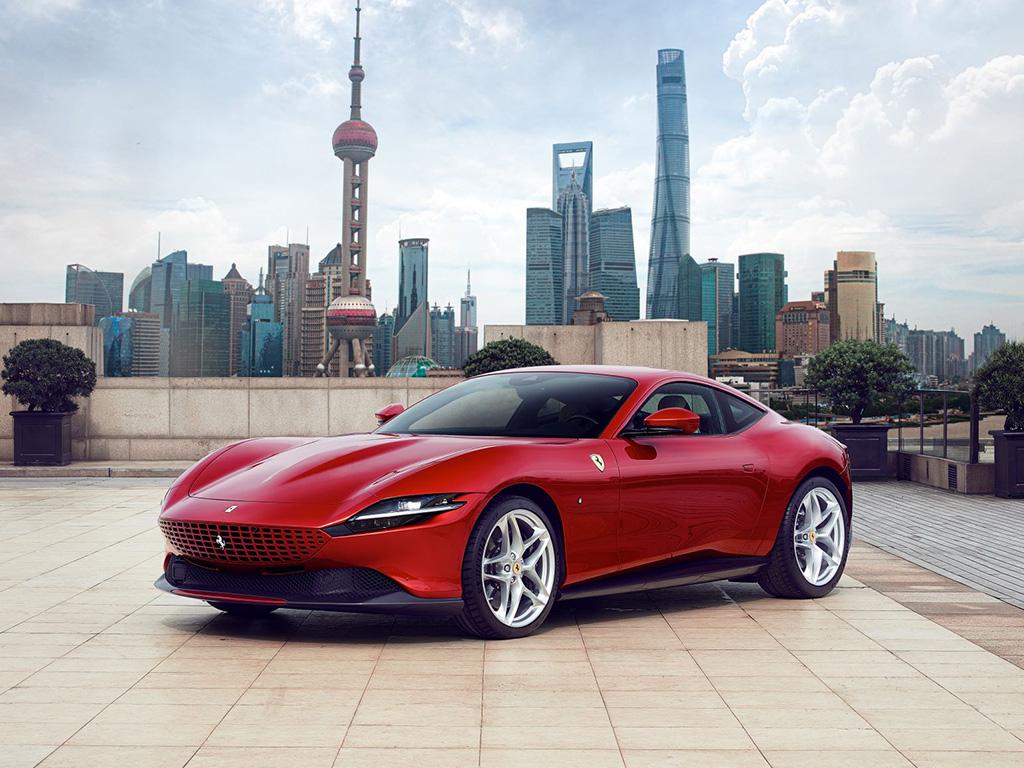 Bu görsel boş bir alt niteliğe sahip; dosya adı Ferrari-Roma-1.jpg