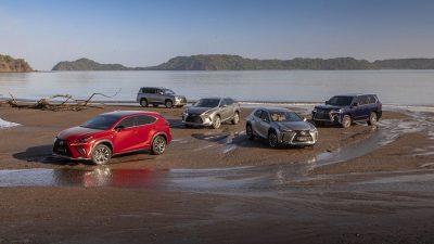 Lexus SUV satışlarında 5 Milyon adede ulaştı