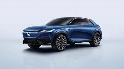 Honda SUV e:concept Pekin Uluslararası Otomobil Fuarı'nda ortaya çıktı