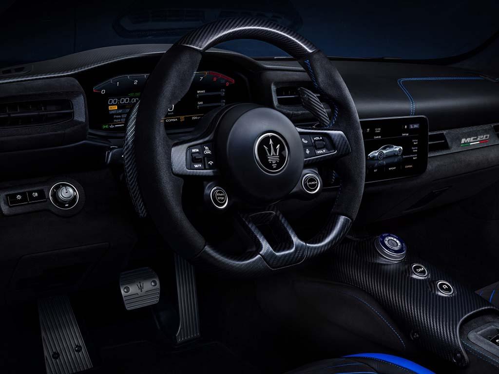 Bu görsel boş bir alt niteliğe sahip; dosya adı Maserati-MC20-Kokpit.jpg