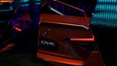 Yeni 2022 Honda Civic tanıtılıyor