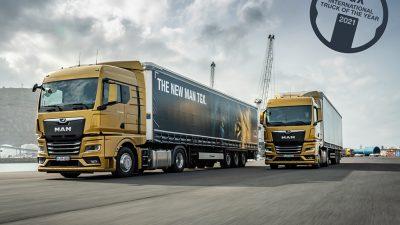 Yılın kamyonu MAN TGX